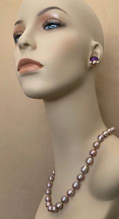 Michael Kneebone Michael Kneebone Lavender Baroque Pearl Necklace - 1619430