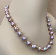 Michael Kneebone Michael Kneebone Lavender Baroque Pearl Necklace - 1619432