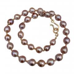 Michael Kneebone Michael Kneebone Lavender Baroque Pearl Necklace - 1620572
