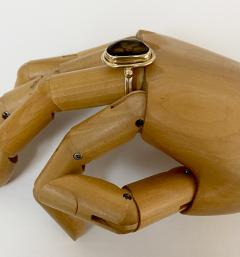 Michael Kneebone Michael Kneebone Mexican Fire Agate Archaic Style Ring - 1940125