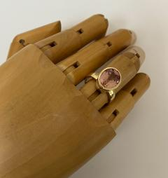 Michael Kneebone Michael Kneebone Morganite 18k Yellow Gold Leah Ring - 1939839