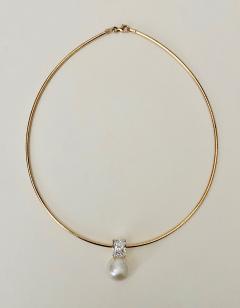 Michael Kneebone Michael Kneebone Paspaley South Seas White Sapphire Pendant - 1672849
