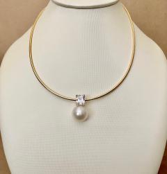 Michael Kneebone Michael Kneebone Paspaley South Seas White Sapphire Pendant - 1672853