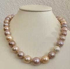 Michael Kneebone Michael Kneebone Pastel Colored Pearl Necklace - 1899664