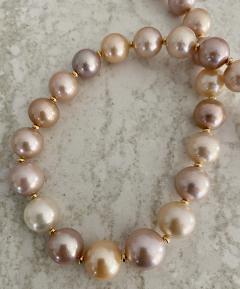 Michael Kneebone Michael Kneebone Pastel Colored Pearl Necklace - 1899665