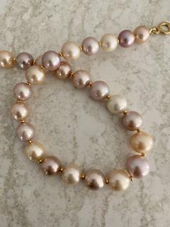 Michael Kneebone Michael Kneebone Pastel Colored Pearl Necklace - 1899667