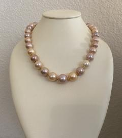 Michael Kneebone Michael Kneebone Pastel Colored Pearl Necklace - 1899669