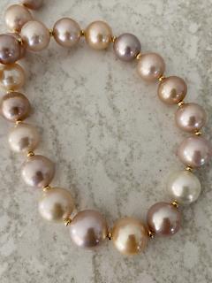 Michael Kneebone Michael Kneebone Pastel Colored Pearl Necklace - 1899670