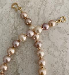 Michael Kneebone Michael Kneebone Pastel Colored Pearl Necklace - 1899671