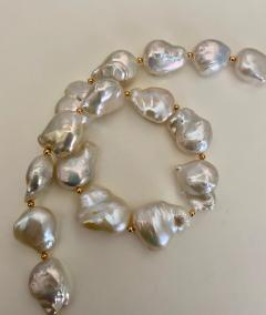 Michael Kneebone Michael Kneebone White Cloud Baroque Pearl Necklace - 1595564
