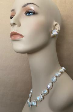 Michael Kneebone Michael Kneebone White Cloud Baroque Pearl Necklace - 1595567