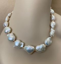 Michael Kneebone Michael Kneebone White Cloud Baroque Pearl Necklace - 1595569