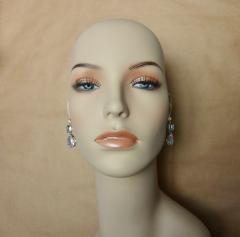 Michael Kneebone Michael Kneebone White Sapphire Blue Zircon White Topaz Dangle Earrings - 1230440