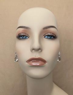 Michael Kneebone Michael Kneebone White Topaz White Sapphire Dangle Earrings - 1495436