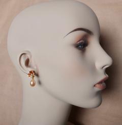Michael Kneebone Michael Kneebone Yellow Sapphire Topaz Citrine Diamond Pearl Confetti Earrings - 1187868