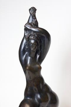 Michael Lanz Michael Lantz Bronze Female Sculpture org American - 1044733