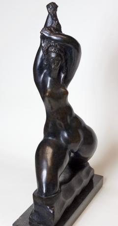 Michael Lanz Michael Lantz Bronze Female Sculpture org American - 1044735