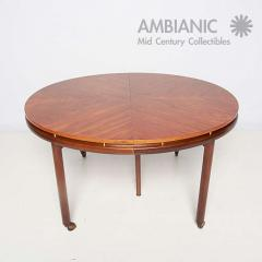 michael taylor mid century modern oval dining table by michael taylor for baker