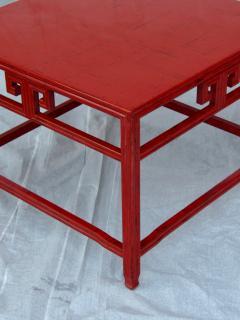 Michael Taylor Pair Michael Taylor Cinnabar Side Tables Baker Far East Collection C 1960 - 874523