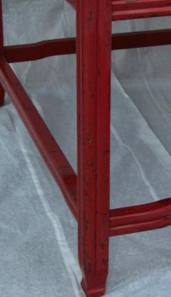 Michael Taylor Pair Michael Taylor Cinnabar Side Tables Baker Far East Collection C 1960 - 874530