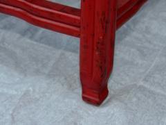 Michael Taylor Pair Michael Taylor Cinnabar Side Tables Baker Far East Collection C 1960 - 874534
