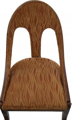 Michael Taylor Pair of Michael Taylor for Baker Mid century Spoon Back Slipper Lounge Chairs - 1752978