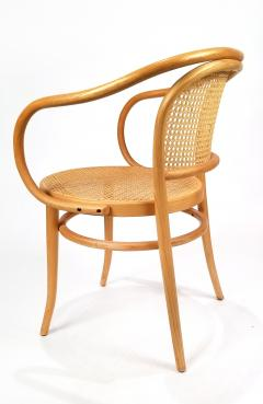 Michael Thonet Pair of Michael Thonet Solid Beechwood and Cane no 209 Armchairs - 1126520