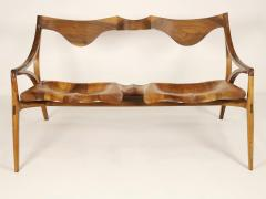 Michael Wilson Extraordinary Museum Quality Settee by Well Know Artist Michael Wilson - 2026252