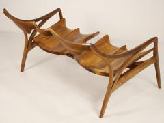 Michael Wilson Extraordinary Museum Quality Settee by Well Know Artist Michael Wilson - 2026253