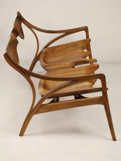 Michael Wilson Extraordinary Museum Quality Settee by Well Know Artist Michael Wilson - 2026254