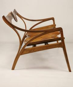 Michael Wilson Extraordinary Museum Quality Settee by Well Know Artist Michael Wilson - 2026255