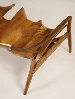 Michael Wilson Extraordinary Museum Quality Settee by Well Know Artist Michael Wilson - 2026257