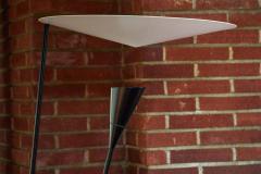 Michel Buffet Michel Buffet B211 Black and White Floor Lamp - 1595159