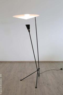 Michel Buffet Michel Buffet B211 Black and White Floor Lamp - 1595166