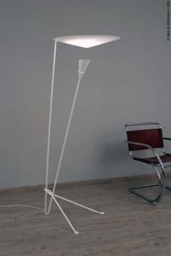Michel Buffet Michel Buffet B211 Black and White Floor Lamp - 1595169