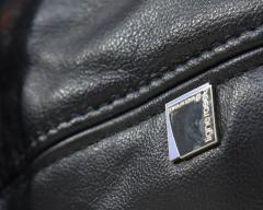 Michel Ducaroy Ducaroy Ligne Roset Sofa Set in Brown Perspex with Black Leather - 543395