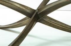 Michel Mangematin Rare Large Michel Mangematin Bronze Coffee Table 1962 - 2131382