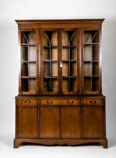 Mid 19th Century English Mahogany Wood Hutch Cabinet - 1038125
