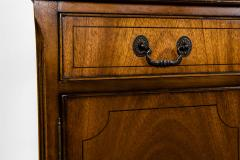 Mid 19th Century English Mahogany Wood Hutch Cabinet - 1038130