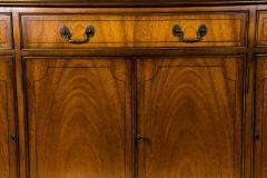 Mid 19th Century English Mahogany Wood Hutch Cabinet - 1038133