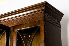 Mid 19th Century English Mahogany Wood Hutch Cabinet - 1038135