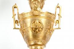 Mid 19th Century Gilt Bronze Five Arms Candelabra - 1170920