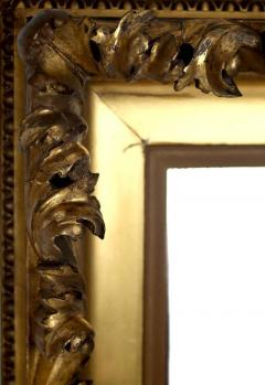 Mid 19th Century Gilt Classical Acanthus Looking Glass Mirror - 426048