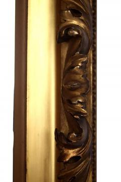 Mid 19th Century Gilt Classical Acanthus Looking Glass Mirror - 426049