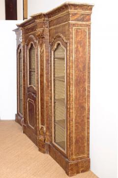 Mid 19th Century Italian Baroque Style Bookcase - 1984136