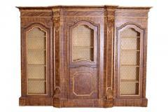 Mid 19th Century Italian Baroque Style Bookcase - 1984140