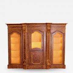 Mid 19th Century Italian Baroque Style Bookcase - 2010222