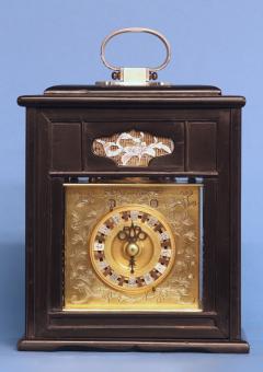 Mid 19th Century Japanese Bracket Clock with Original Case - 1184100