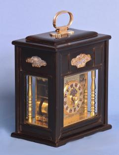 Mid 19th Century Japanese Bracket Clock with Original Case - 1184108