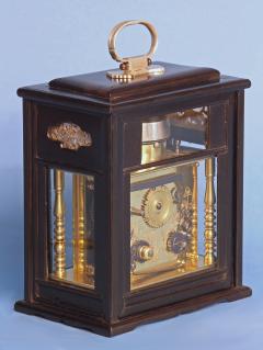 Mid 19th Century Japanese Bracket Clock with Original Case - 1184109